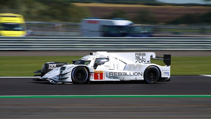 WEC Silverstone Free Practice: Rebellion #1 on track