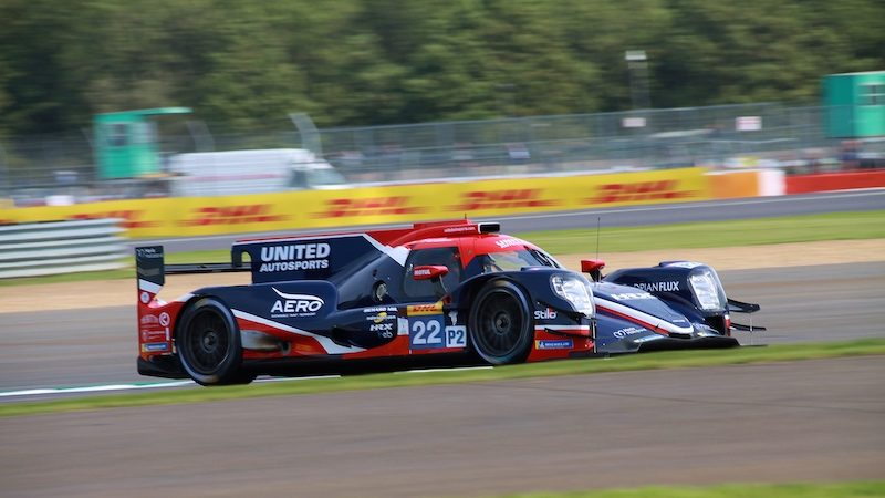 Silverstone Free Practice: United Autosports #22 on track