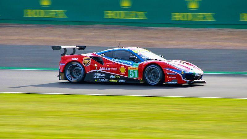 WEC qualifying: #51 AF Corse Ferrari