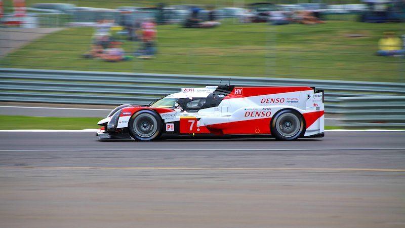 WEC qualifying: #7 Toyota TS050