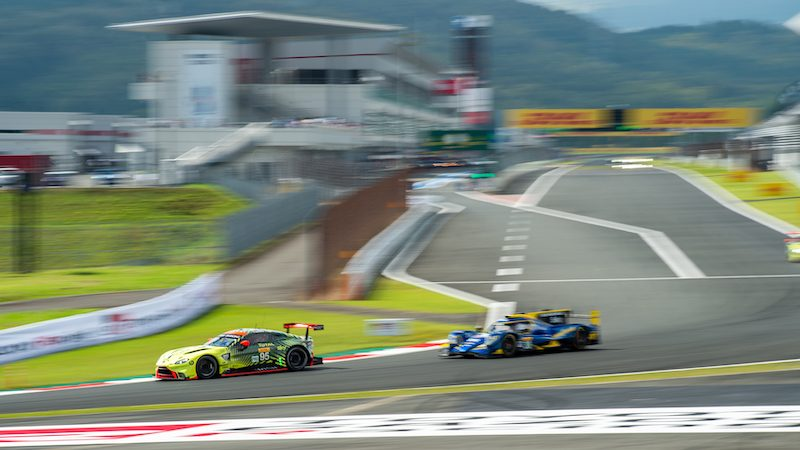 #95 Aston Martin at the Six Hours of Fuji 2019