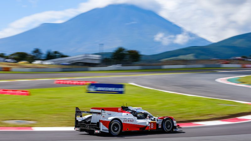 #8 Toyota at the Six Hours of Fuji 2019