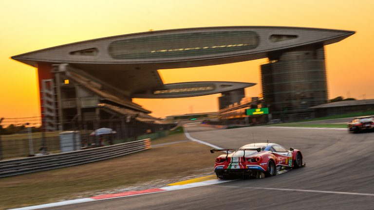 #1 Rebellion Racing at the FIA WEC 4 Hours of Shanghai