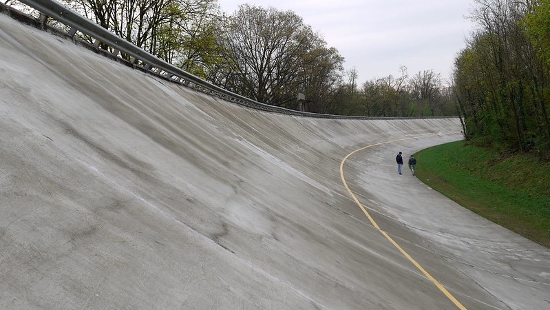 The track of Monza