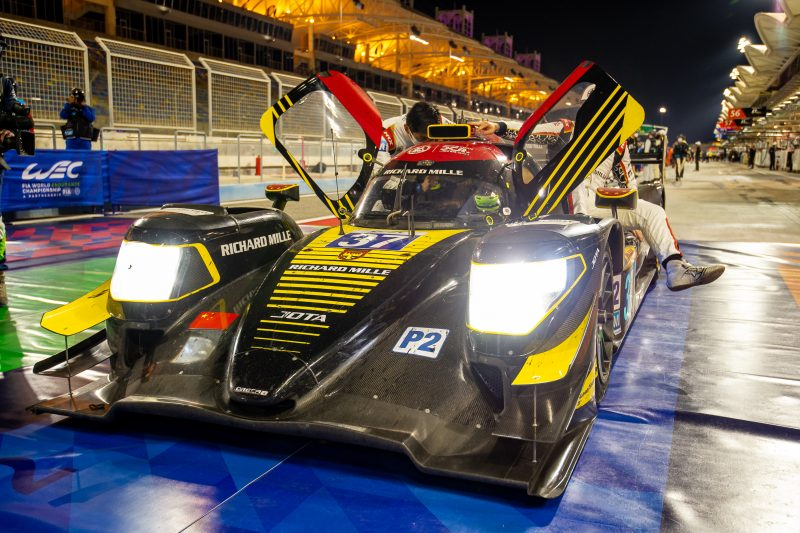 #37 Jackie Chan DC Racing Oreca after winning the WEC season finale in Bahrain
