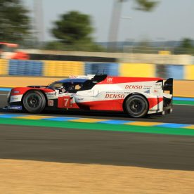 #7 Toyota TS050 in Qualifying for the 2020 24 Hours of Le Mans