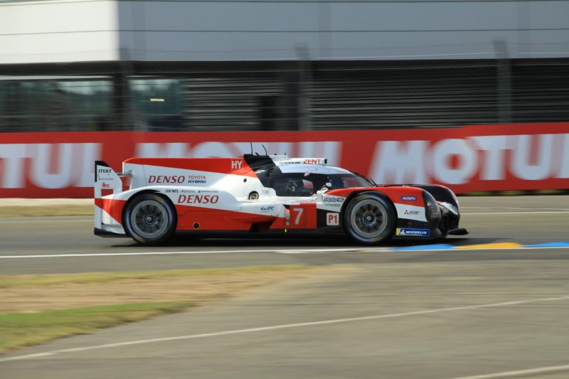 #7 Toyota TS050 during Hyperpole for the 2020 24 Hours of Le Mans