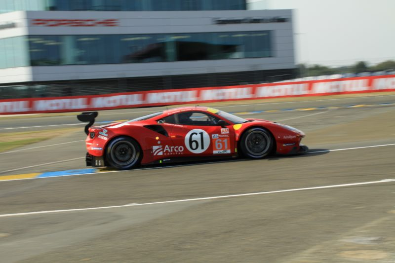 #61 Luzich Racing Ferrari in Hyperpole at the 2020 24 Hours of Le Mans