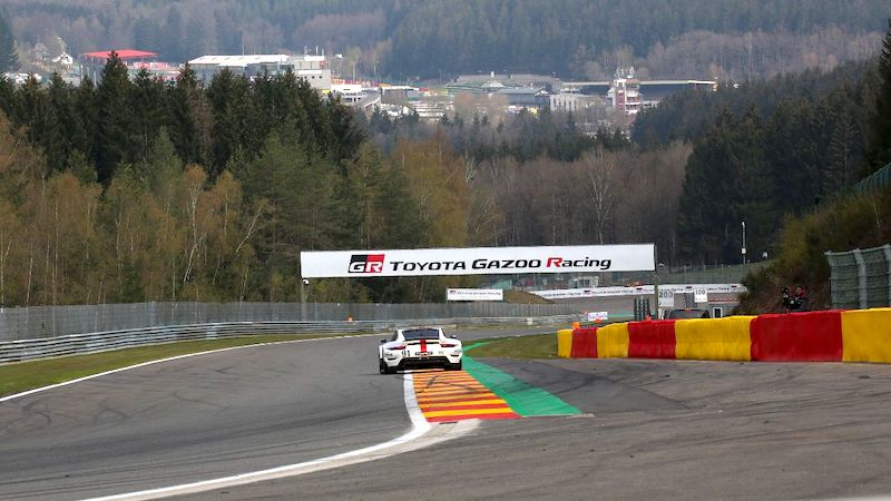 #91 Porsche 911 RSR-19 in qualifying for the 2021 6 Hours of Spa-Francorchamps