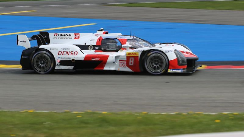 #8 Toyota GR010 Hybrid at the 6 Hours of Spa-Francorchamps 2021