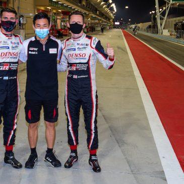 #7 Toyota quickest in Bahrain qualifying