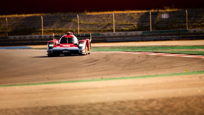 Glickenhaus at Le Mans Testday