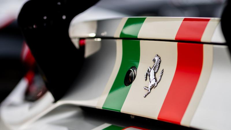 Ferrari 488 GTE EVO at Monza FP1