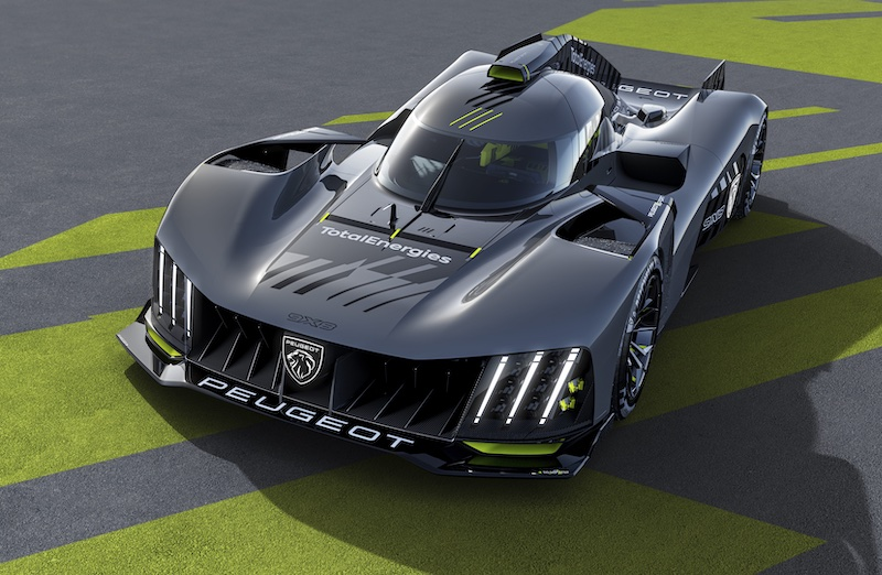 Peugeot 9X8 set to enter the WEC in 2022