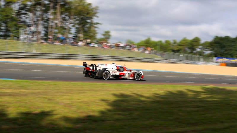 #7 Toyota GR010 Hybrid at the 2021 24 Hours of Le Mans