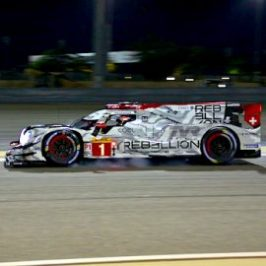 Rebellion Racing in qualifying at the 8 Hours of Bahrain